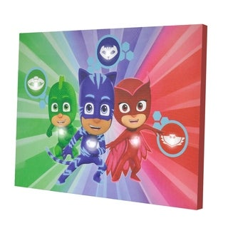PJ Masks Led Canvas Wall Art