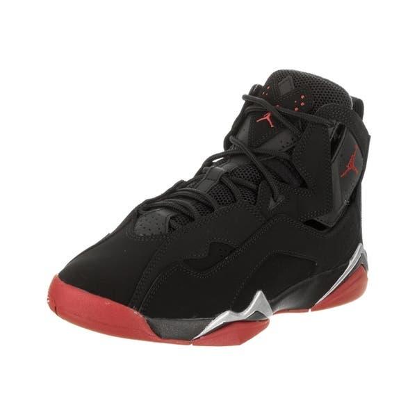 new concept e8d12 db5ed Shop Nike Jordan Kids Jordan True Flight BG Basketball Shoe ...