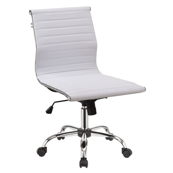 Furniture of America Geline Contemporary Faux Leather Office Chair