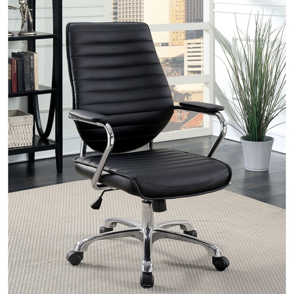 Office Furniture Free Shipping: Shop Furniture Of America Wini Contemporary Leatherette