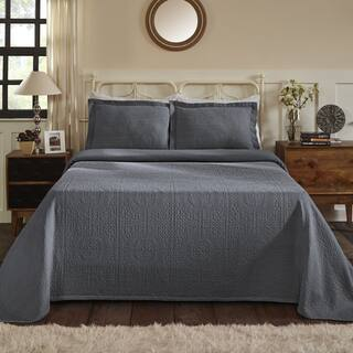 Superior All-Season 100% Premium Cotton Oversized Medallion Pattern Bedspread|https://ak1.ostkcdn.com/images/products/18528634/P24637151.jpg?impolicy=medium