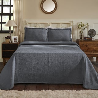 Superior All-Season 100% Premium Cotton Oversized Medallion Pattern Bedspread