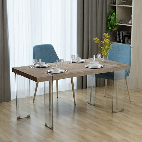 Buy Glass Kitchen & Dining Room Tables Online at Overstock.com   Our ...