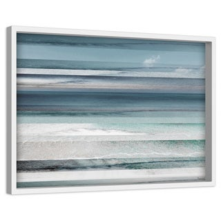 'Himara' Painting Print on Canvas with Shadow Box