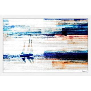 'Aegean Sea' Framed Painting Print