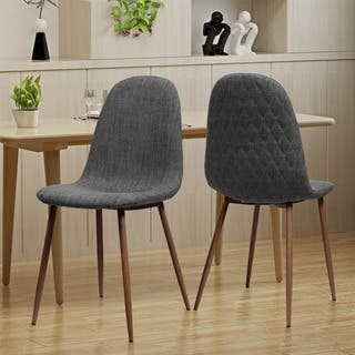 Caden Mid Century Fabric Dining Chair (Set of 2) by Christopher Knight Home|https://ak1.ostkcdn.com/images/products/18528855/P24637702.jpg?impolicy=medium