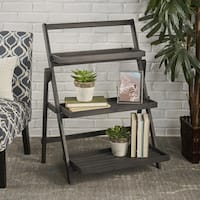 Cletus Acacia Wood Display Plant Stand by Christopher Knight Home