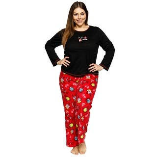 Xehar Womens Plus Size Comfy Coffee Break Pajama Pjs Sleepwear Set https://ak1.ostkcdn.com/images/products/18529815/P24638183.jpg?impolicy=medium