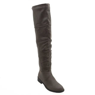 Blue Womens  KASKADE-2-H  Suede Dress Mid-calf Fashion Boots