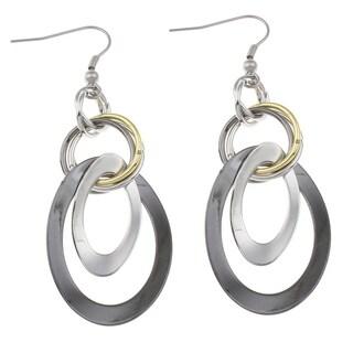 Orchid Jewelry Zinc Alloy Multi-Hoop Earrings - multi