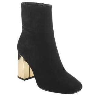BETANI EI77 Women's Side Zipper Ankle High Top Chunky Heel Booties|https://ak1.ostkcdn.com/images/products/18531762/P24639898.jpg?impolicy=medium