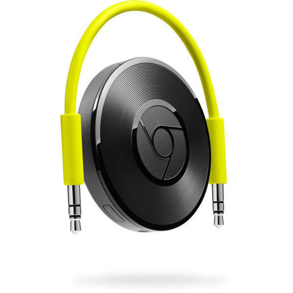 Google Chromecast Audio Network Audio Player - Wireless LAN - Black