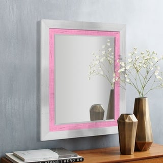 Appalachian Rose Framed Beveled Wall Mirror