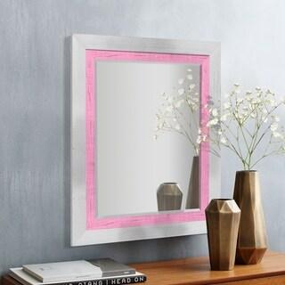 Appalachian Rose Framed Beveled Wall Mirror