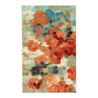 Mohawk Home Aurora Colorful Garden Area Rug (5'x8') - 5' x  8'