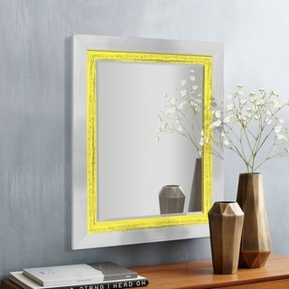 Appalachian Sun Framed Beveled Wall Mirror