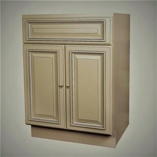 24x21 Pearl Vanity Cabinet