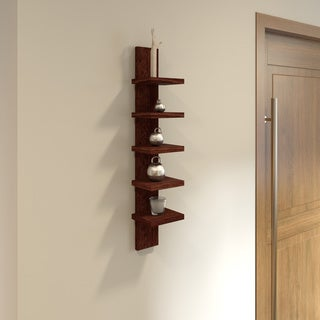 Porch & Den Montclair Erwin Wall mount 5-tier Shelving