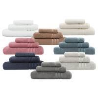 Porch & Den Balmont Patterson Hotel Turkish Cotton 3-piece Terry Towel Set