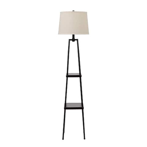 Carbon Loft Gallatin Lighting 3-way 58-inch Distressed Iron Etagere Floor Lamp