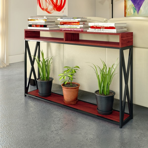 Porch & Den Bywater Dauphine Deluxe 2-tier Console Table