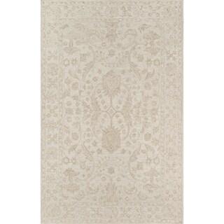 "Momeni Cosette Beige Wool Hand-tufted Area Rug (3'6 x 5'6) - 3'6"" x 5'6"""