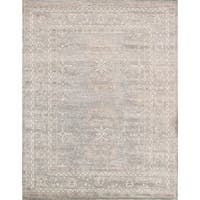 "Pasargad Oushak Collection Bamboo Silk Area Rug (7'11"" X 10' 1"")"