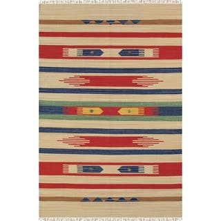 Pasargad Anatolian Collection Cotton Hand-woven Rug (9'0 x 12'0) https://ak1.ostkcdn.com/images/products/18534193/P24641939.jpg?impolicy=medium