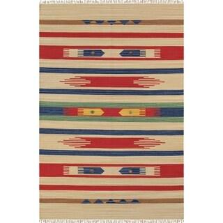 Pasargad Anatolian Collection Cotton Hand-woven Rug (9'0 x 12'0)