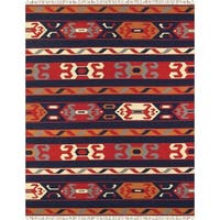"Anatolian Collection Hand-Woven Cotton Area Rug (9' 0"" X 12' 0"")"