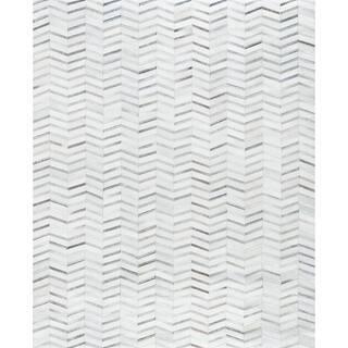 Pasargad Sari Silver Silk Cowhide Hand-loomed Rug (8'9 x 11'9) https://ak1.ostkcdn.com/images/products/18534201/P24641938.jpg?impolicy=medium