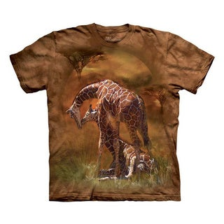 THE MOUNTAIN GIRAFFE SUNSET YOUTH T-SHIRT