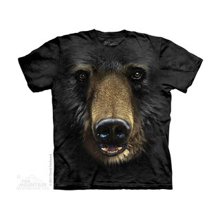 THE MOUNTAIN BLACK BEAR FACE YOUTH T-SHIRT