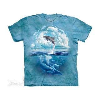 THE MOUNTAIN DOLPHIN SKY YOUTH T-SHIRT