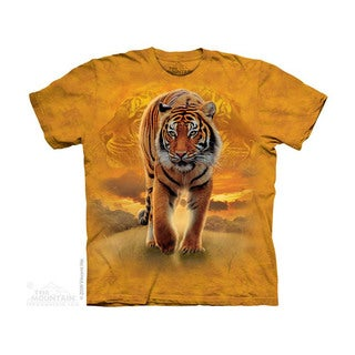THE MOUNTAIN RISING SUN TIGER YOUTH T-SHIRT