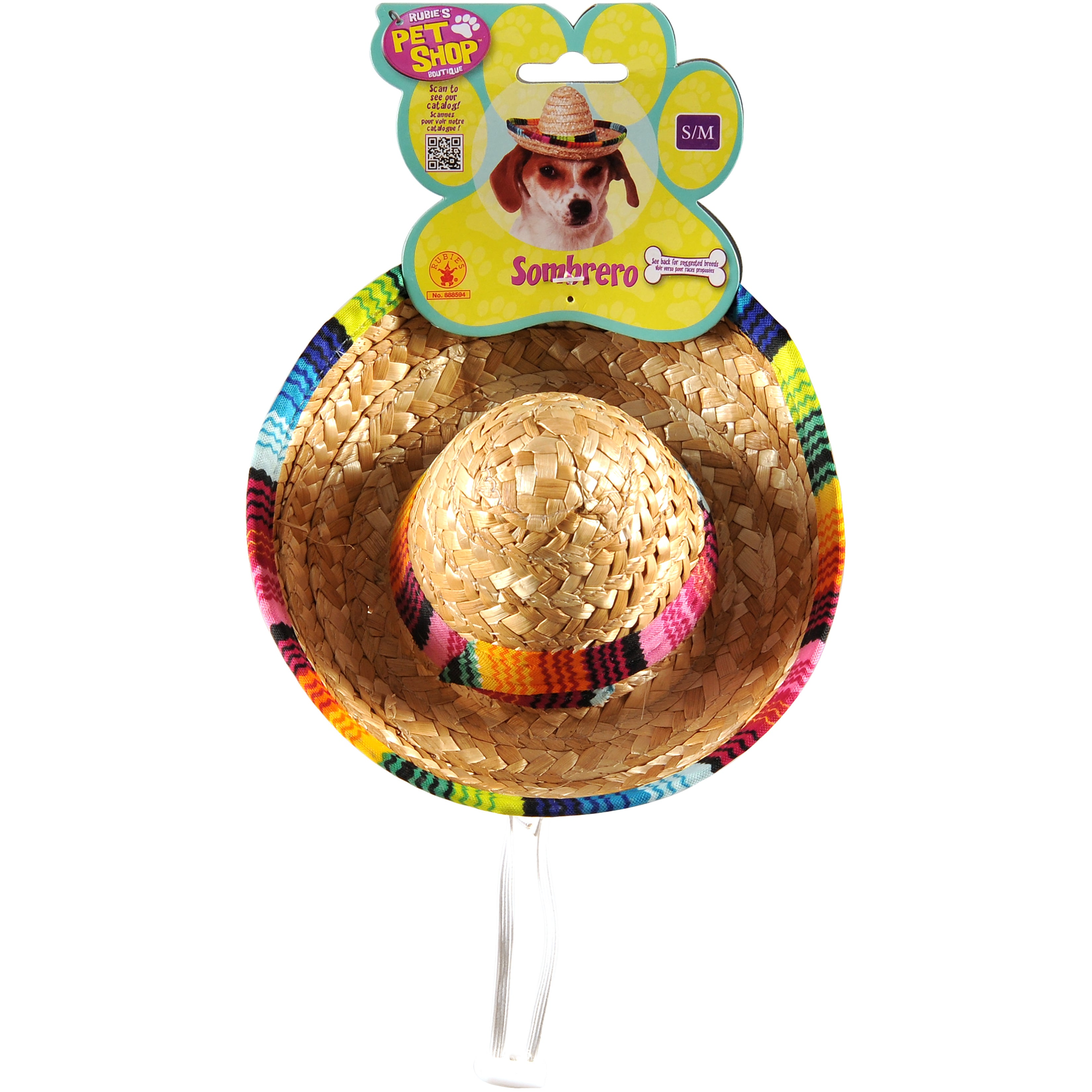 Rubie's Multicolor Sombrero-Small-Medium (Small-Medium), ...