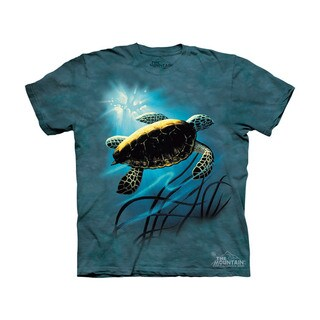 THE MOUNTAIN GREEN SEA TURTLE YOUTH T-SHIRT