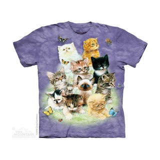 THE MOUNTAIN 10 KITTENS YOUTH T-SHIRT