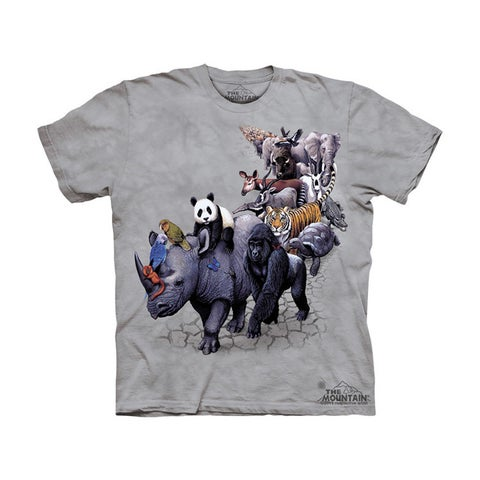 THE MOUNTAIN ANIMAL PARADE YOUTH T-SHIRT