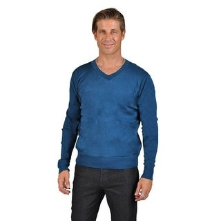 Jean Legacy Shawl Neck Knit Sweater Blue