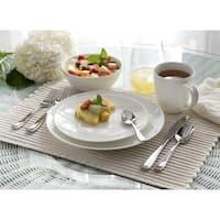 Oneida Moda Coupe Porcelain 16 or 32 piece Dinnerware Set