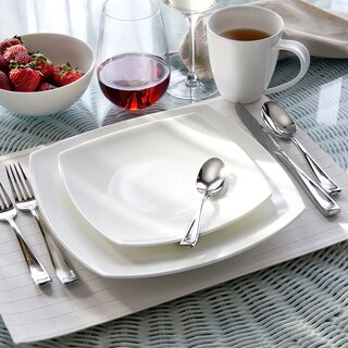 Oneida Moda Porcelain 16 or 32 piece Dinnerware Set