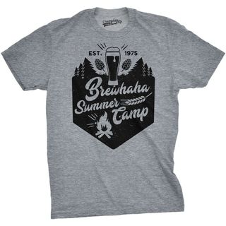 Shop Mens Camp Brewhaha Summer Camp Funny T Shirts Retro