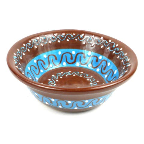 Handmade Small Cereal or Nut Bowl - Chocolate (Mexico)
