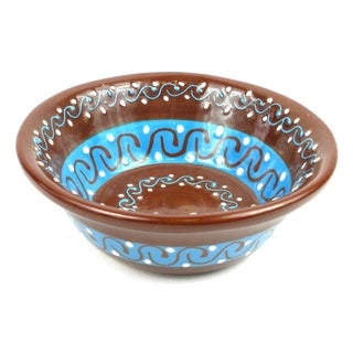 Handmade Small Bowl - Chocolate (Mexico)