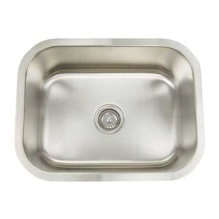 Artisan Premium Series 16 Gauge single bowl sink