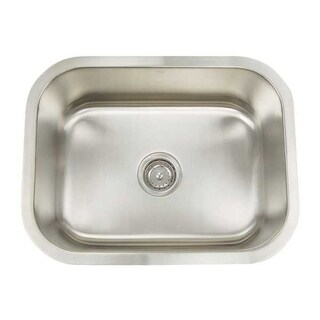 Artisan Premium Series 16 Gauge single bowl sink