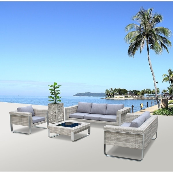 Shop Infinity Molr Set Modern Contemporary Outdoor Living Patio