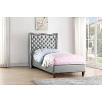 Donco Kids Madison Bed in Silver
