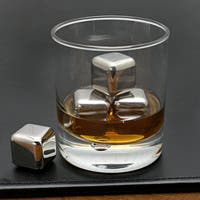 6pc Stainless Steel Whiskey & Wine Ice
